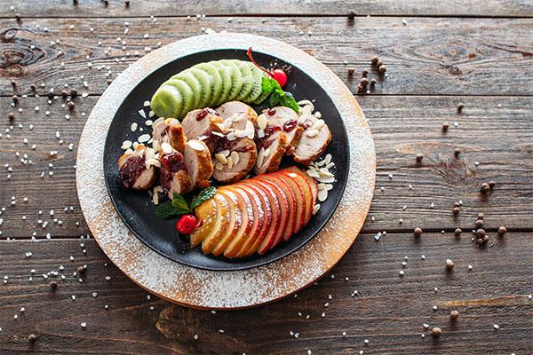 food-plated
